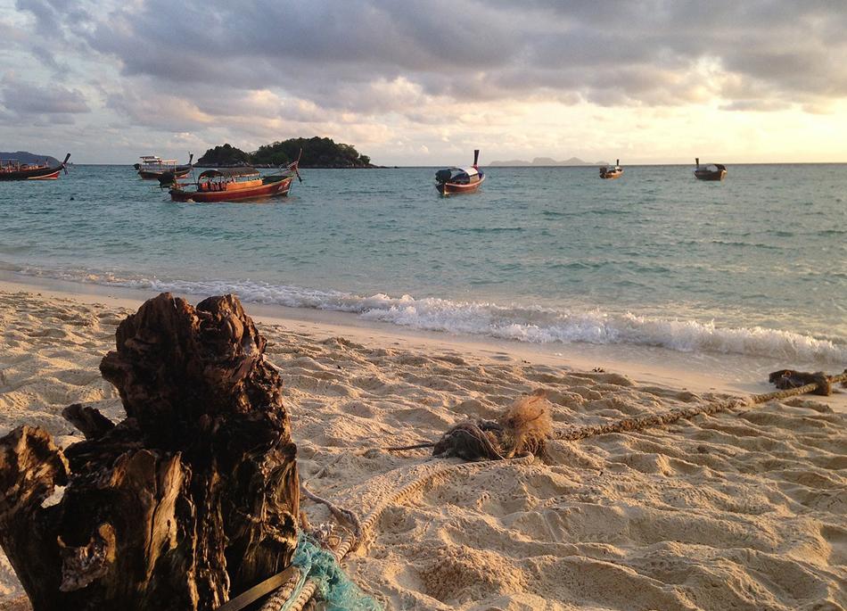 thailandske øer kort